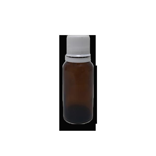Frasco Gotejador em Vidro Âmbar (completo) - 20ml  - Loja Online   Manipule - Farmácia de Manipulação