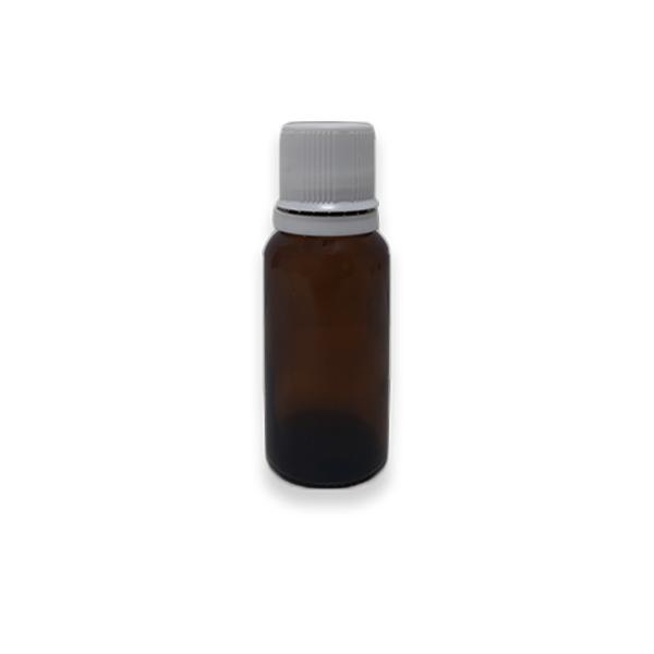 Frasco Gotejador em Vidro Âmbar (completo) - 30ml  - Loja Online   Manipule - Farmácia de Manipulação