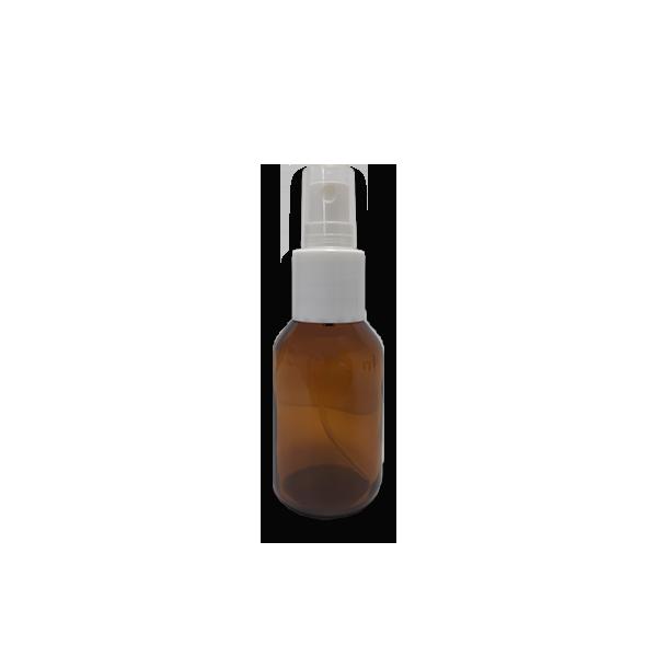 Frasco Spray 30ml - Vidro Âmbar com Válvula Branca  - Loja Online   Manipule - Farmácia de Manipulação