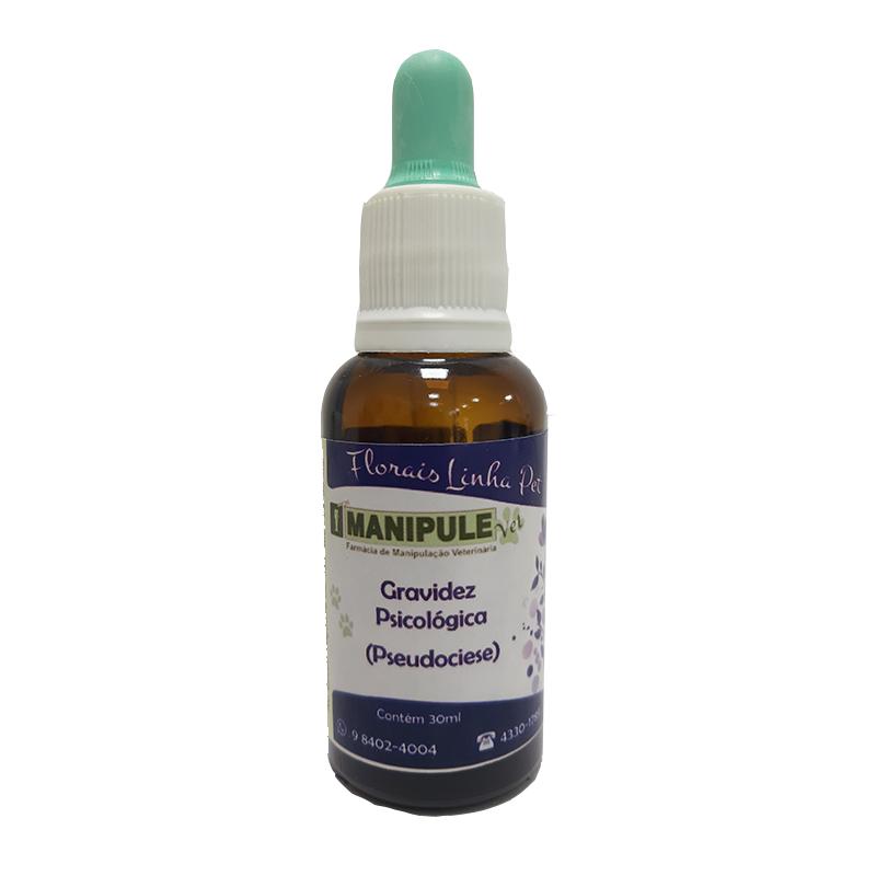 Gravidez Psicológica 30ml - Florais Veterinários  - Manipule - Farmácia de Manipulação