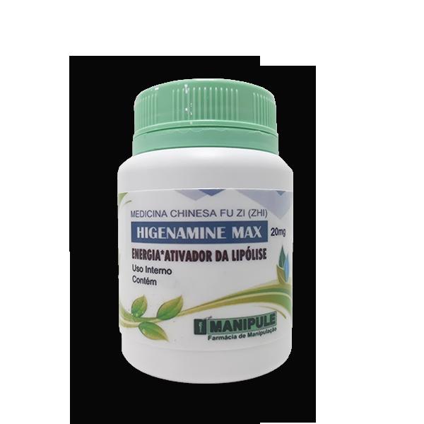 Higenamine Max 20mg  - Loja Online | Manipule - Farmácia de Manipulação