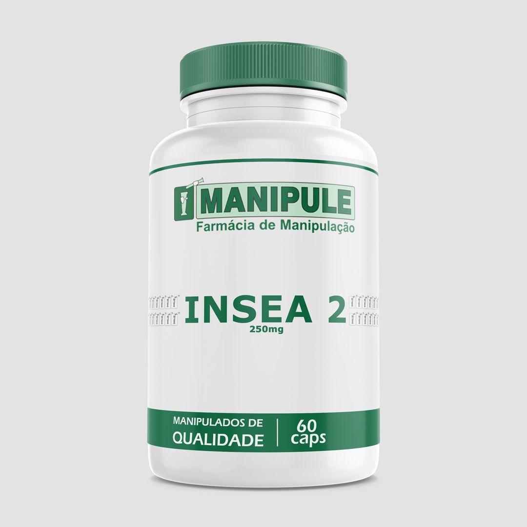 Insea 2 250mg - 60 cápsulas - ganhe 1 Gel Crioterápico 30g  - Loja Online   Manipule - Farmácia de Manipulação