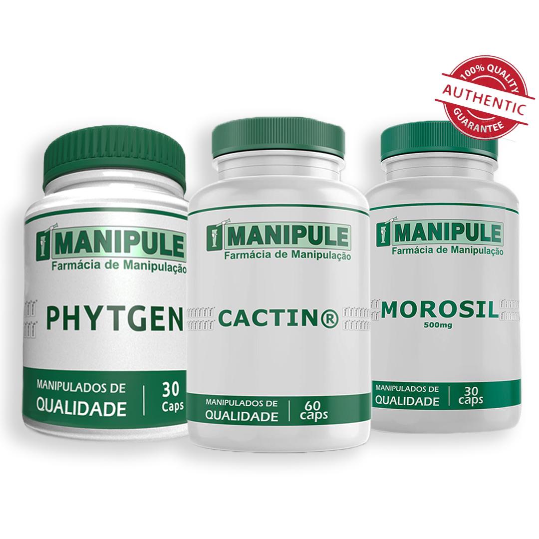 Kit Corpo Perfeito - Morosil + Cactin + Phytgen  - Loja Online | Manipule - Farmácia de Manipulação