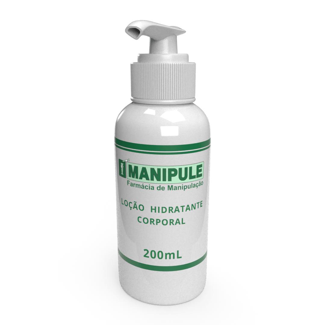 Loção Hidratante Corporal - 200ml  - Manipule - Farmácia de Manipulação