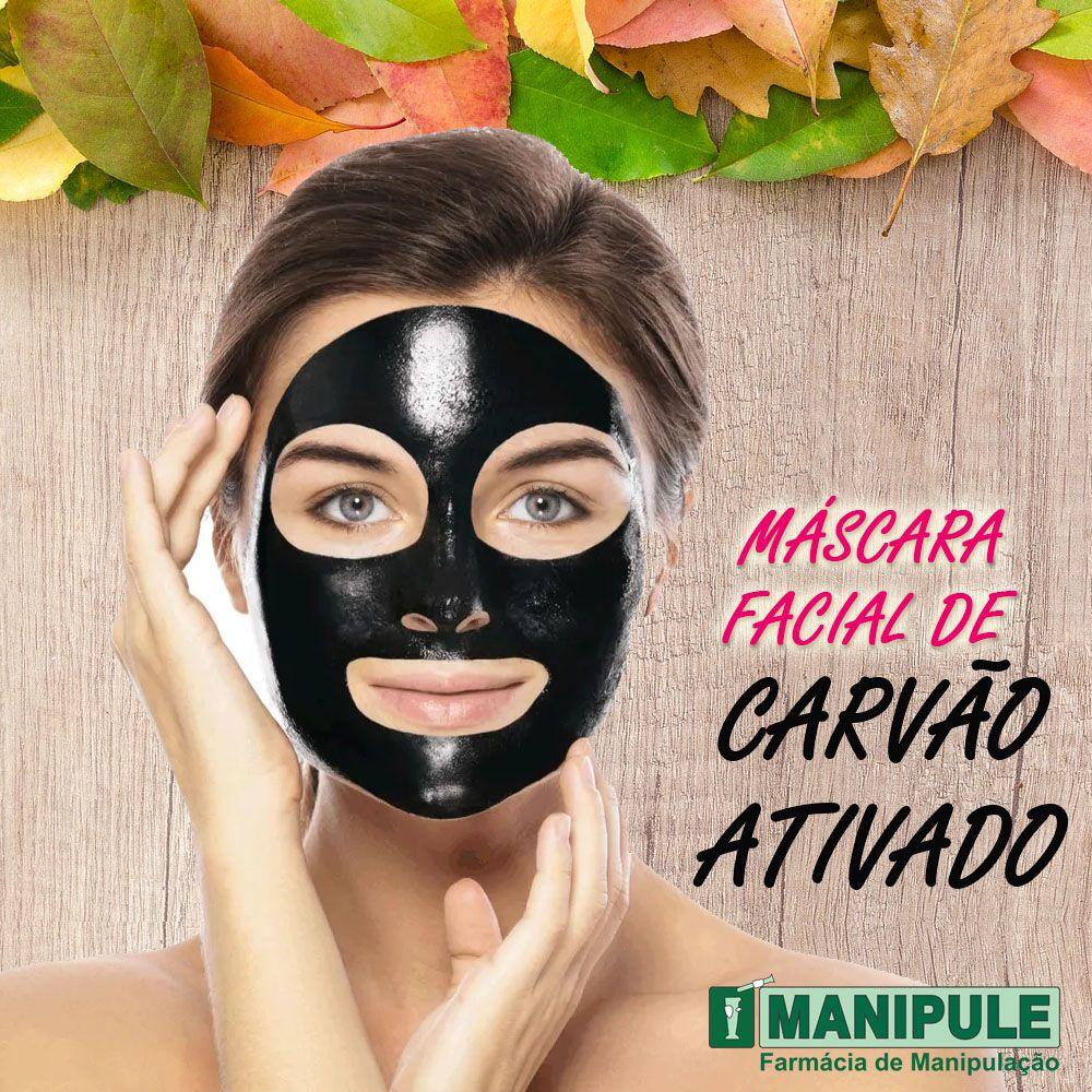 Máscara Facial De Carvão - 5G  - Manipule - Farmácia de Manipulação
