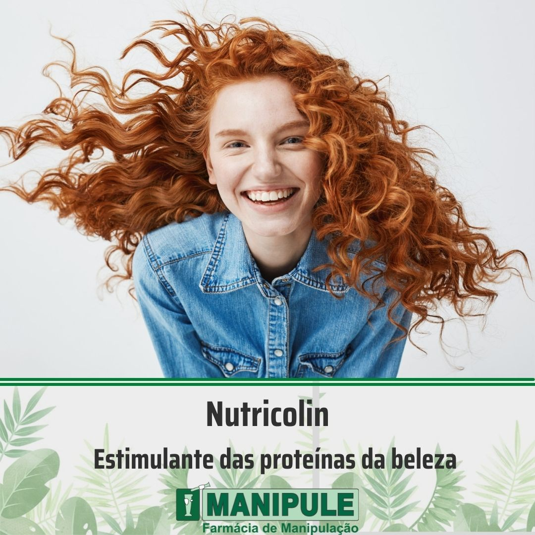 Nutricolin 150mg - 30 cápsulas  - Manipule - Farmácia de Manipulação