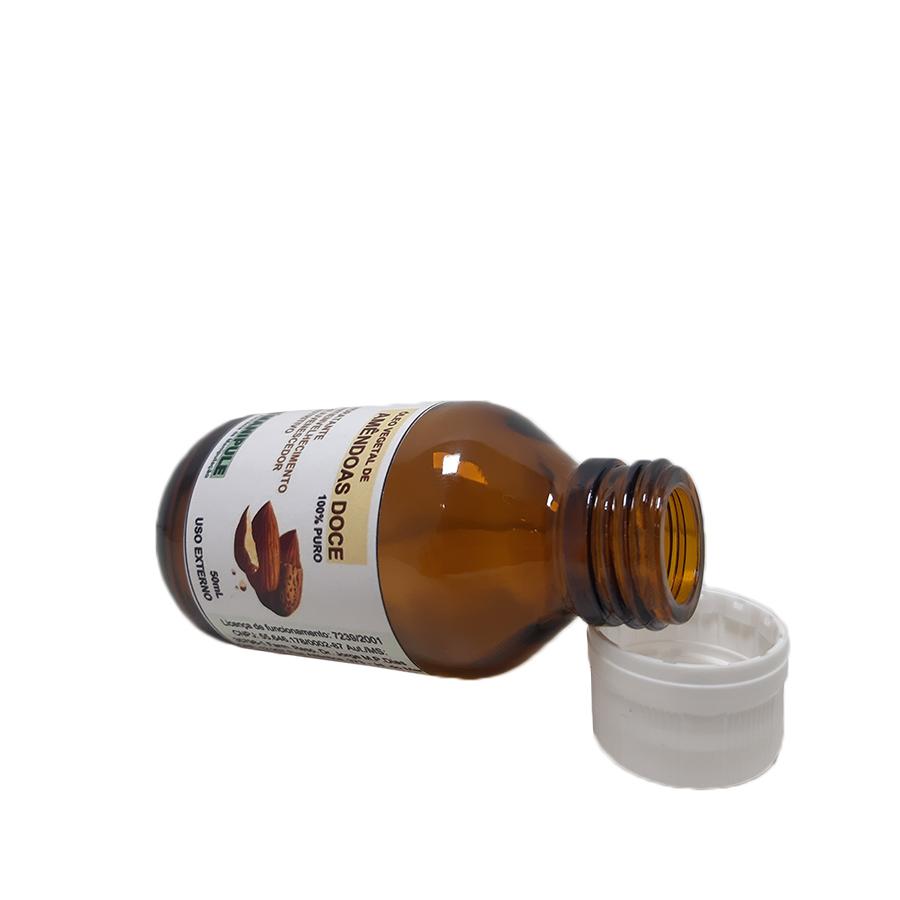 Óleo de Amêndoas 100% Puro - 50ml  - Loja Online | Manipule - Farmácia de Manipulação
