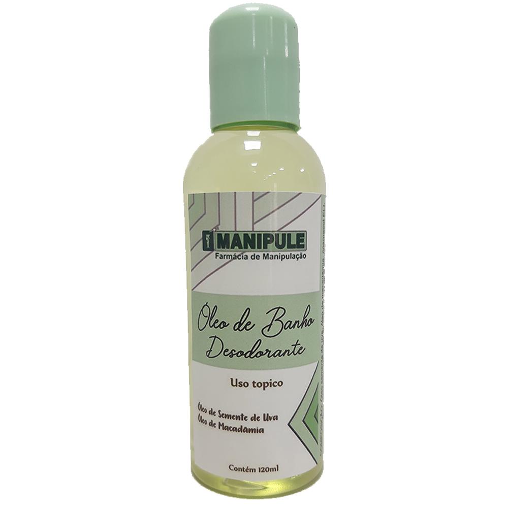 Óleo de Banho Hidratante e Desodorante - 120ml  - Manipule - Farmácia de Manipulação