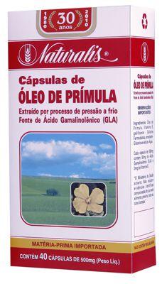 Óleo de Prímula 500mg  - Manipule - Farmácia de Manipulação