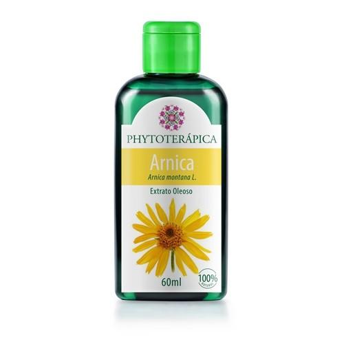 Óleo Vegetal de Arnica - 60ml  - Loja Online   Manipule - Farmácia de Manipulação