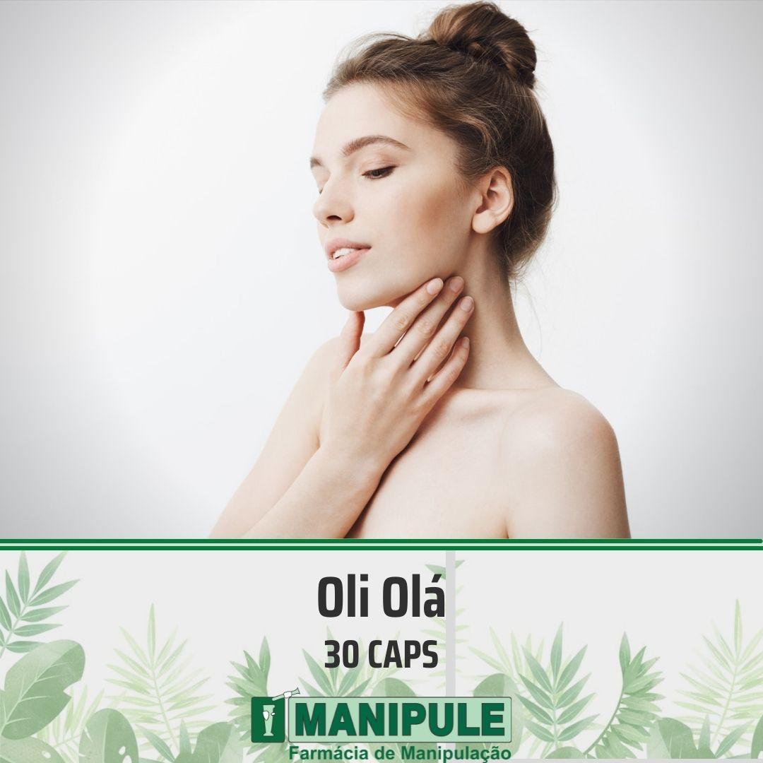 Oli Olá 300mg - 30 cápsulas  - Manipule - Farmácia de Manipulação