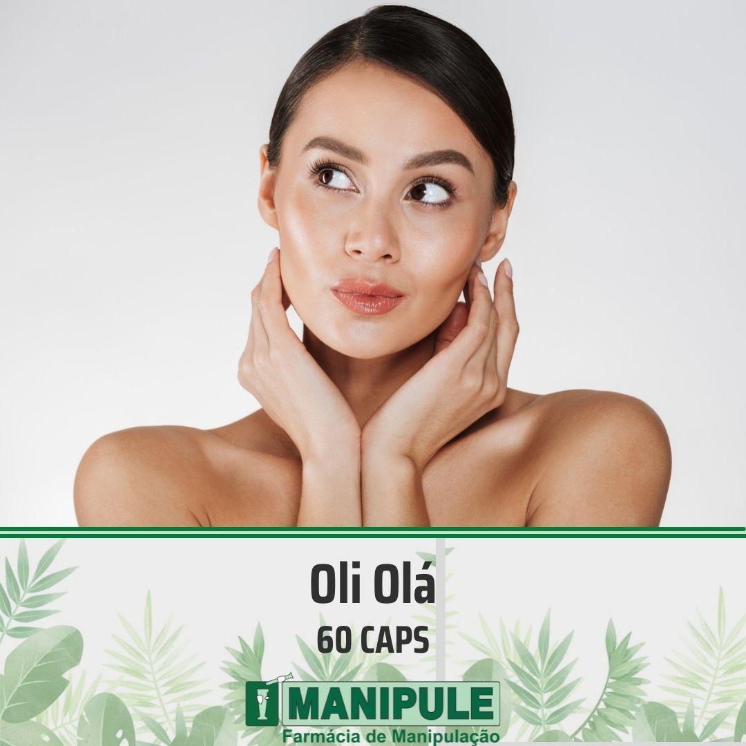 Oli Olá 300mg - 60 cápsulas  - Loja Online | Manipule - Farmácia de Manipulação