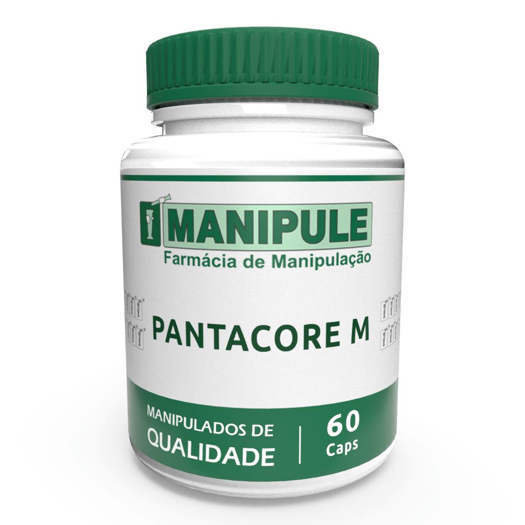 Pantocare M - 60 Cápsulas  - Manipule - Farmácia de Manipulação