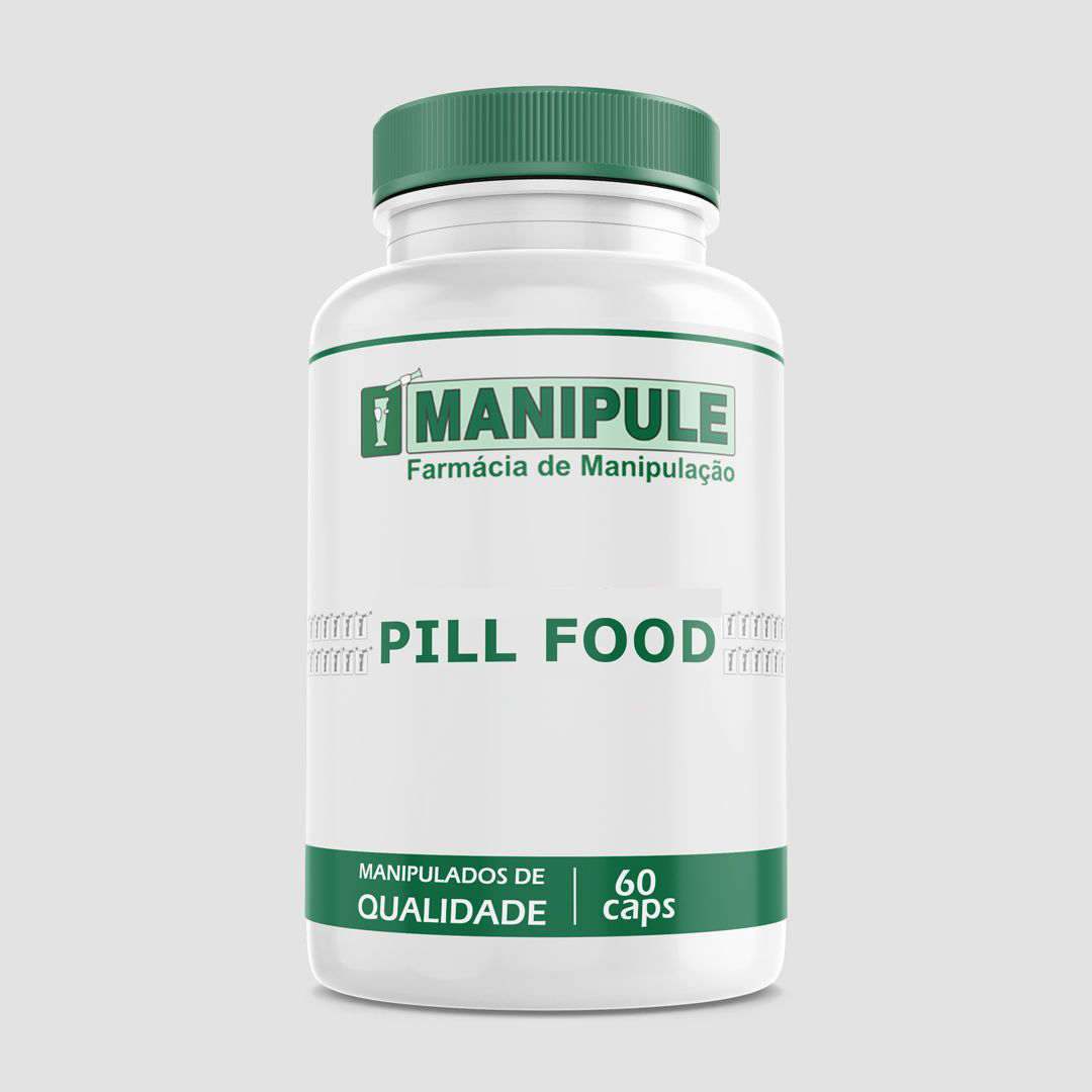 Pill Food - 60 cápsulas  - Loja Online | Manipule - Farmácia de Manipulação