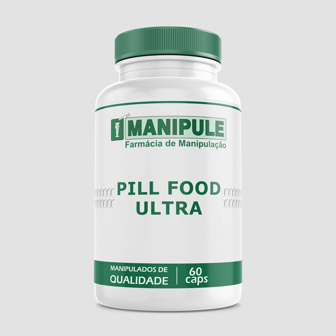 Pill Food Ultra - 60 Cápsulas  - Loja Online | Manipule - Farmácia de Manipulação