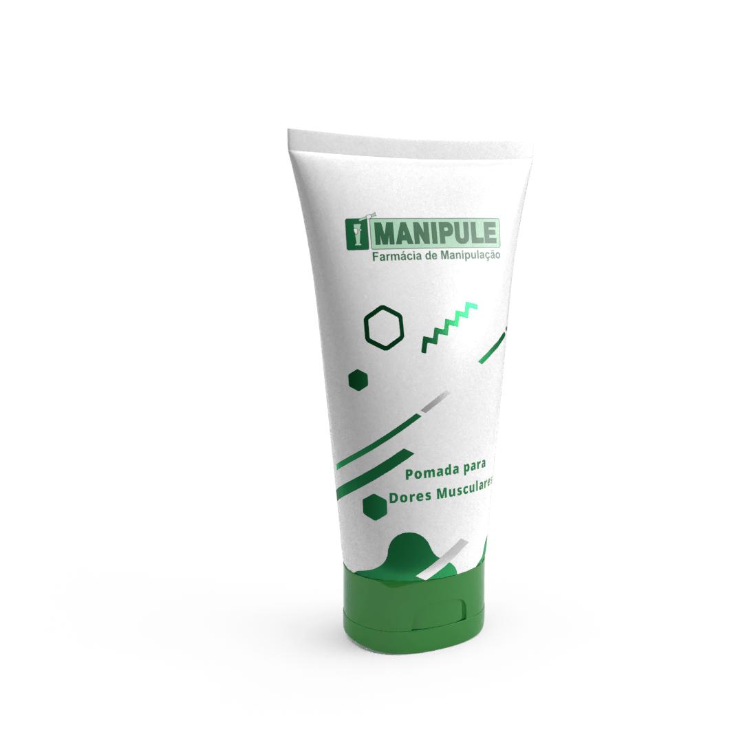 Pomada para Dores Musculares - 50g  - Loja Online | Manipule - Farmácia de Manipulação