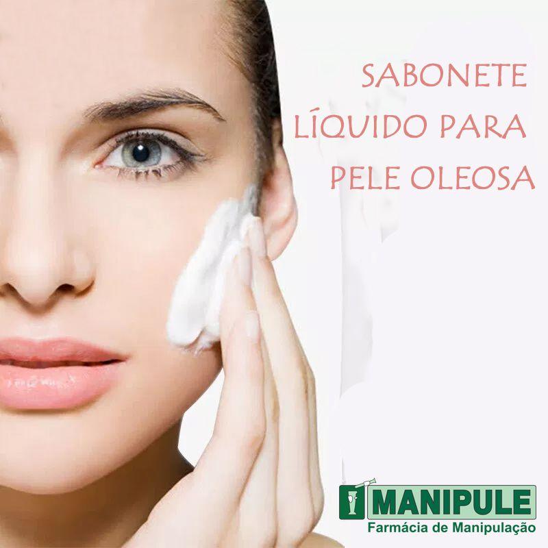 Sabonete Líquido Para Pele Oleosa 100ML  - Loja Online | Manipule - Farmácia de Manipulação
