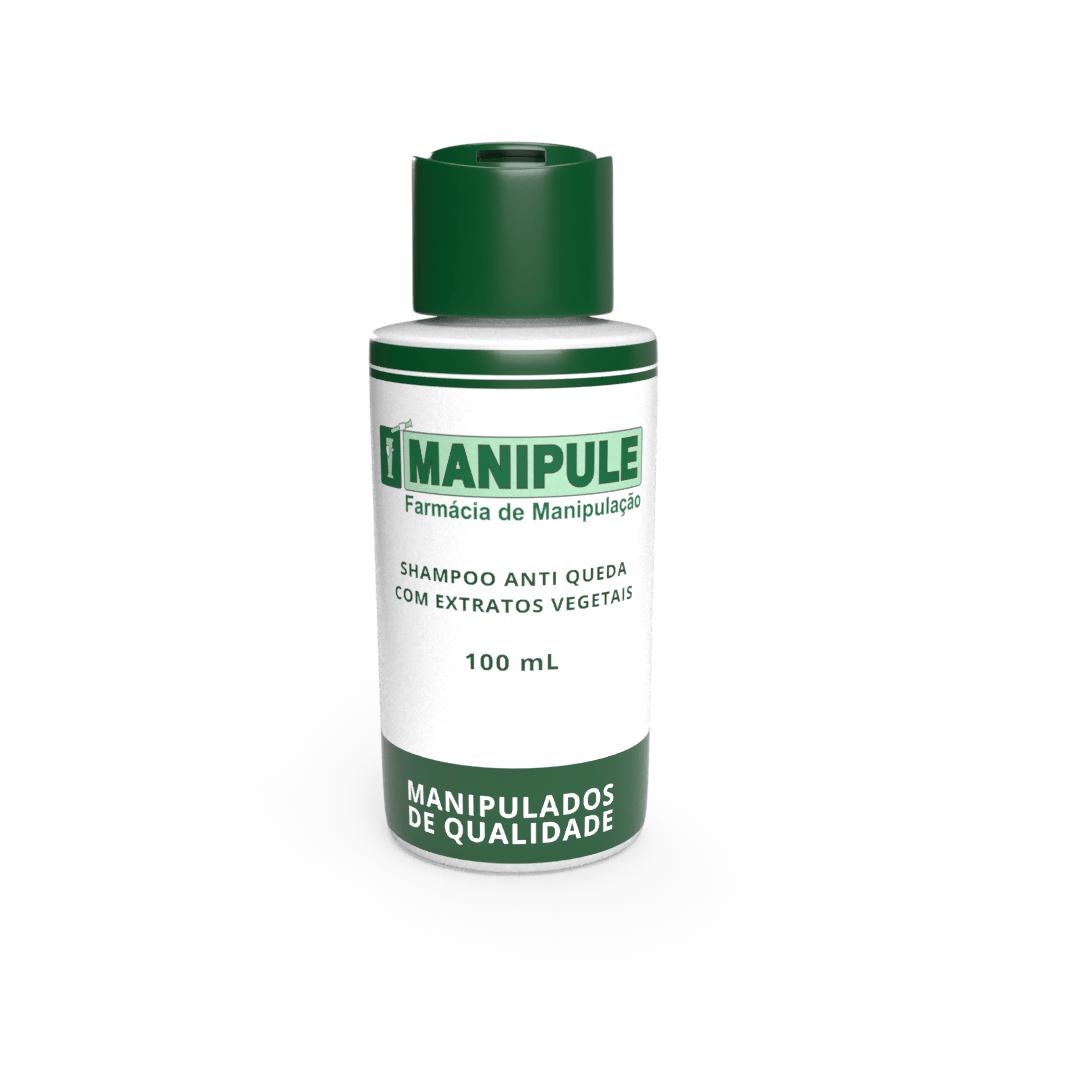 Shampoo Anti-Queda com Extratos Vegetais 100 mL  - Manipule - Farmácia de Manipulação