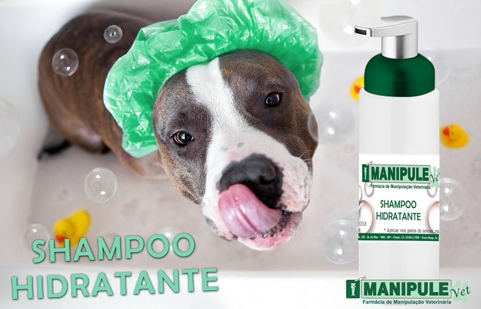 Shampoo Hidratante Para Pet 150ml  - Manipule - Farmácia de Manipulação
