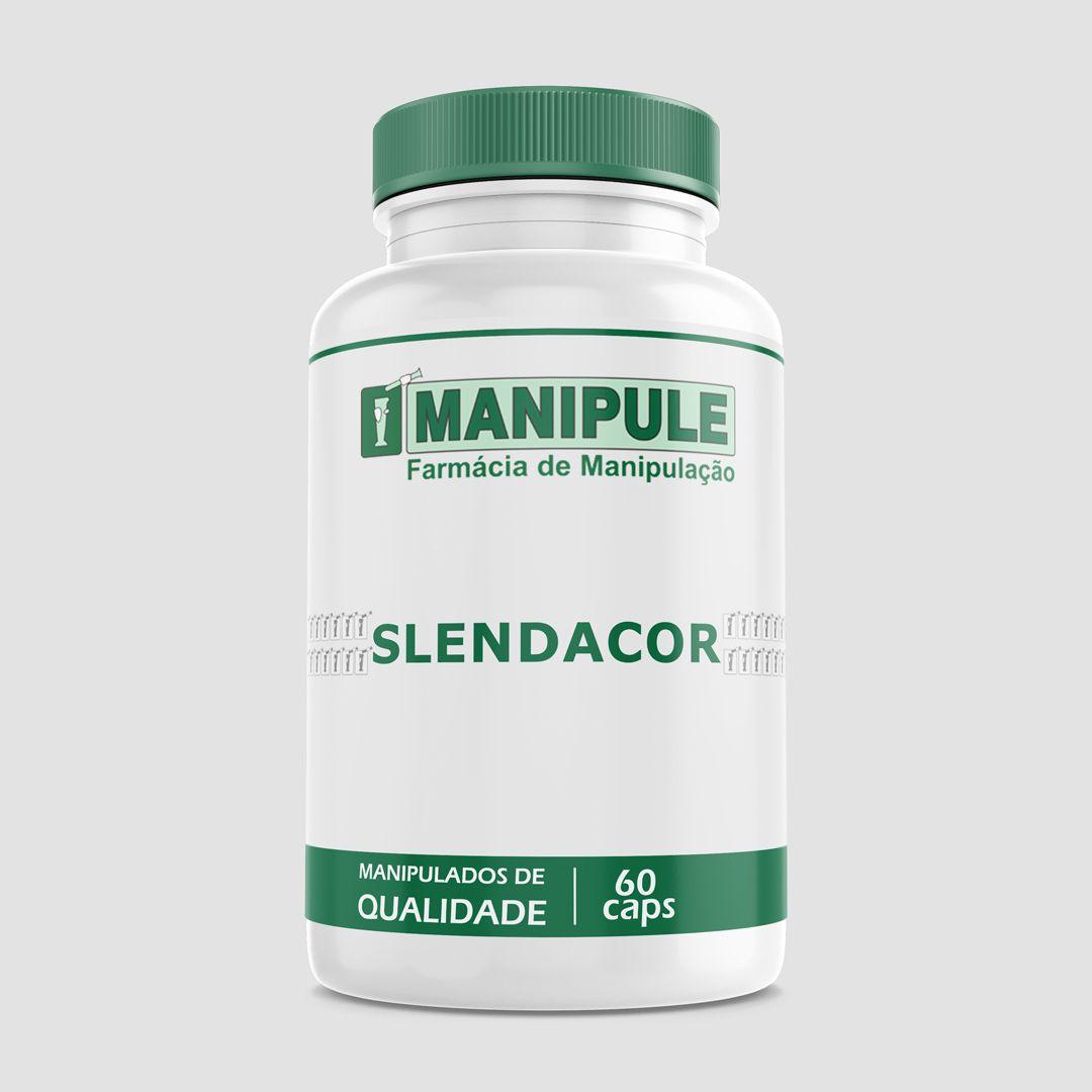 Slendacor - 60 cápsulas - ganhe 1 Gel Crioterápico 30g  - Manipule - Farmácia de Manipulação