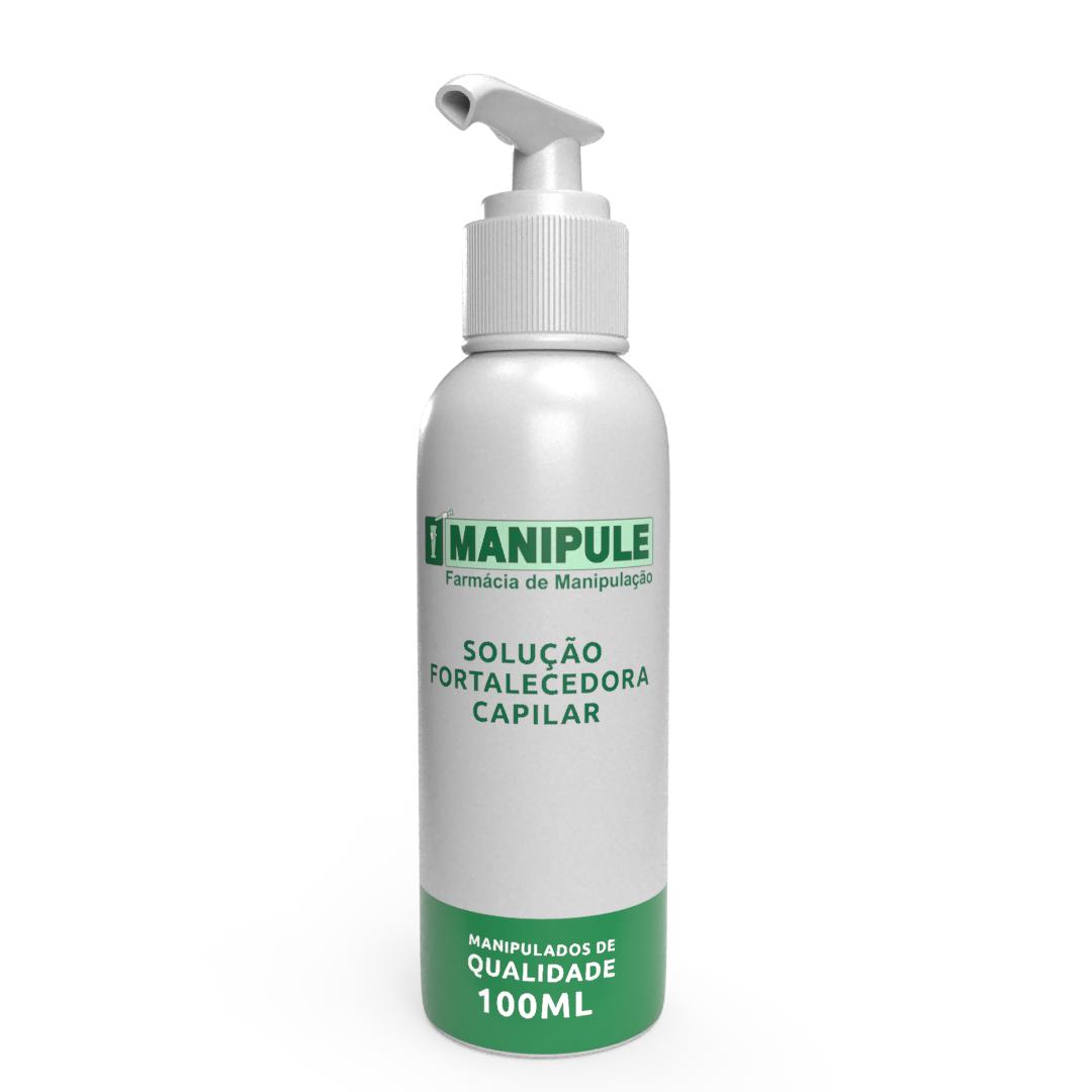 Solução Fortalecedora Capilar - 100ML  - Manipule - Farmácia de Manipulação