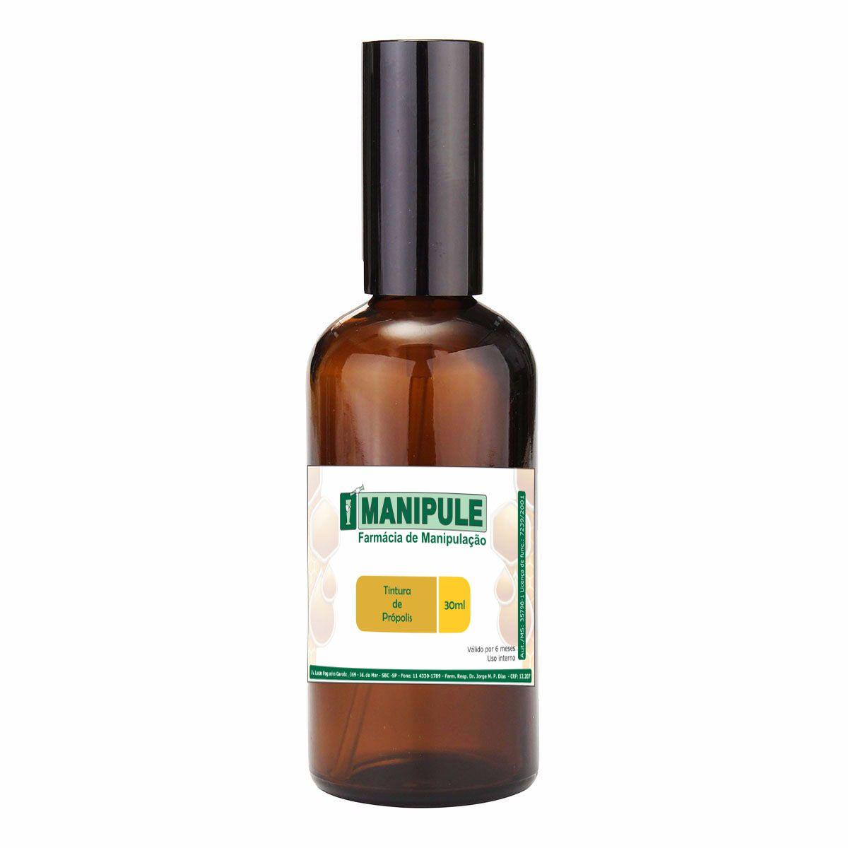 Tintura de Própolis - 30ml  - Loja Online | Manipule - Farmácia de Manipulação