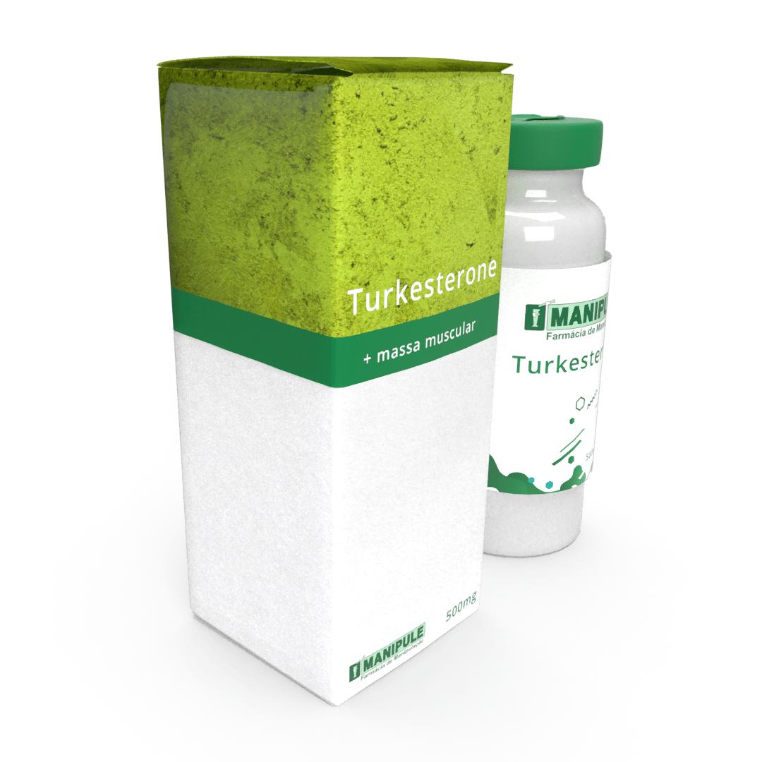Turkesterone 500mg - 60 cápsulas  - Manipule - Farmácia de Manipulação