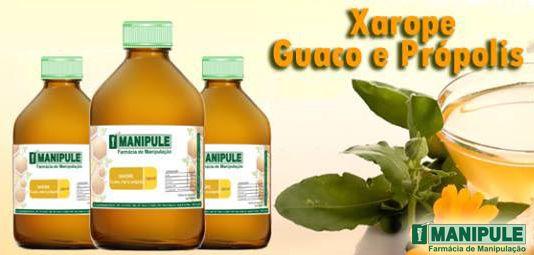 Xarope de Guaco, Própolis e Mel - 120ml  - Manipule - Farmácia de Manipulação
