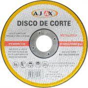 Disco Corte Metal/inox 2t 7x1/16x7/8 Ajax - 99br.023.101