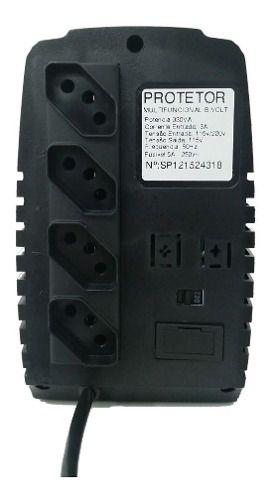Protetor Eletrônico Para Pc 330va Bivolt - Energy Lux