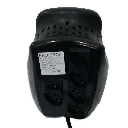 Protetor Multifuncional Power Plus 1000va - Energy Lux