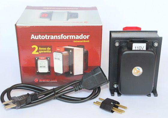 Autotransformador 2000va (1400w) Bivolt - Energy Lux