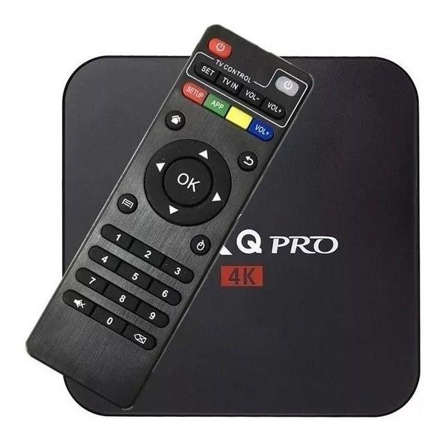 Conversor Smart Tv Box MXQ-PRO 4K 5G 4GB De Ram 32GB Rom - Android 9.1
