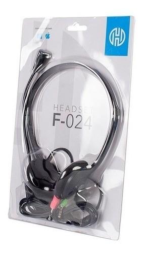Fone Headset Gamer P2 Microfone Haste Ajustável