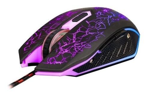 Mouse Gamer Gt 1000 Hoopson Predador Rgb 6 Botões 2400dpi