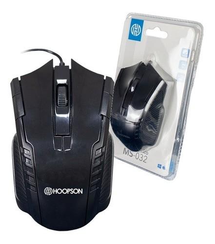 Mouse Óptico Com Fio Usb 1000 Dpi Informática Pc Notebook
