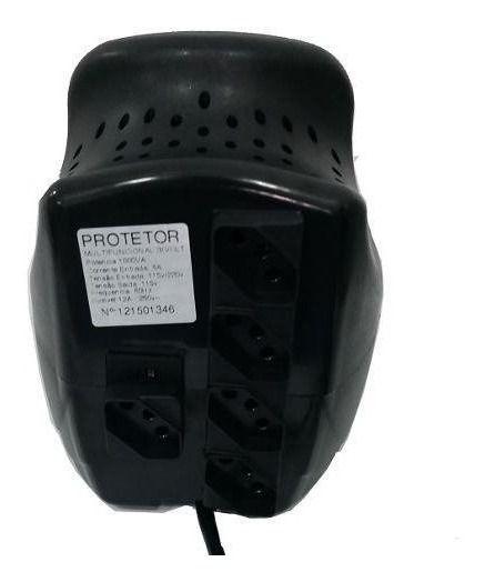 Protetor Eletrônico Para Impressora Laser 2000va - Energy Lux