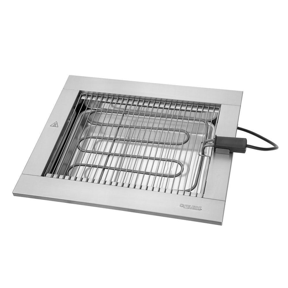 Churrasqueira elétrica Cooktop Felesa 2200W – 220v