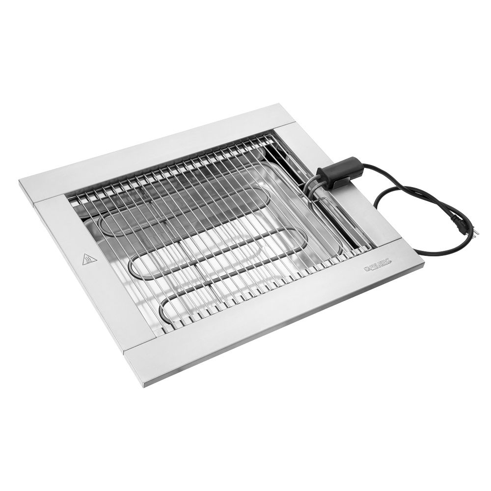 Churrasqueira elétrica Cooktop Felesa 2200W  220v