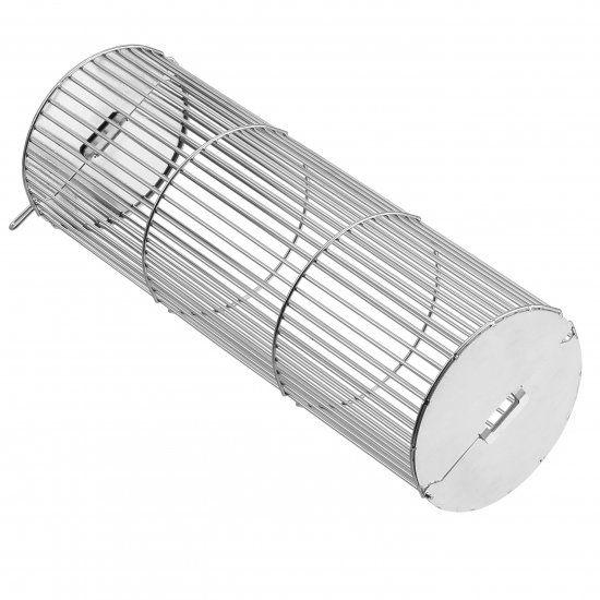 Grelha Rotativa Tambor para Churrasco - Felesa - 100 x 300 mm - Inox AISI 304