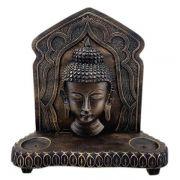 Altar Buda Hindu com Porta Incensos e Porta Velas Rechaud