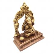 Altar com Porta Incensos Ganesha no Arco (12cm)