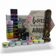 Box Zen - Kit de Produtos com Caixa Surpresa: Edição Sete Chakras