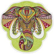 Canga Mandala Elefante para Yoga e Decoração