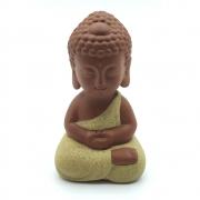 Estátua em Cerâmica Buda Meditando (9cm)