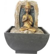 Fonte de Água Buda Orando (16cm)