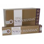 Incenso Indiano de Massala Golden Nag Chandan