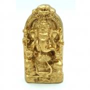 Mini Estátua Ganesha em Resina (9cm)