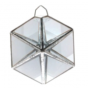 Mini Prisma D'água Hexágono (8cm)