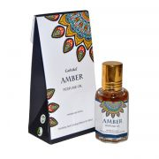 Perfume Indiano Goloka Âmbar (10ml)